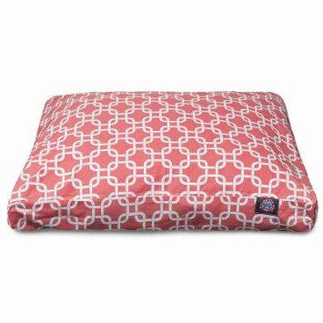 Majestic Pet Links Rectangle Bed - Large, Orange (One Size)- Pet Accessories - Pet Beds