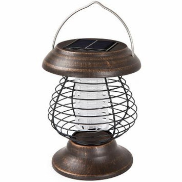 Wakeman Bug Zapper - Bug Zappers - Brown - Rubbed Bronze