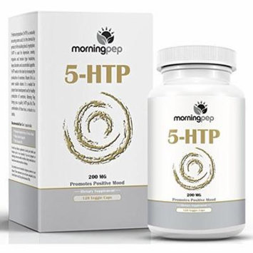 5-HTP Supplement 120 count (High Dosage) Of 200mg Per Caps with Vitamin B6 added