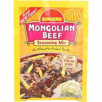 SunBird Seasoning Mix - Mongolian Beef - 1 oz - case of 24 -