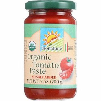 Bionaturae Tomato Paste - Organic - 7 oz - case of 12 - 100% Organic - No Salt Added - Made in Italy