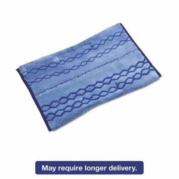 Hygen Wet/scrub Microfiber Plus Pad, 17 1/2w X 20d, Blue, 6/carton