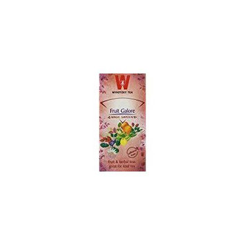 Wissotzky Tea Fruit Galore Kosher For Passover 20 Tea Bags, 1.76 Oz. Pack Of 6.