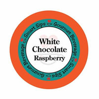 Smart Sips, White Chocolate Raspberry Gourmet Flavored Coffee, 24 Count, Compatible With All Keurig K-cup Machines