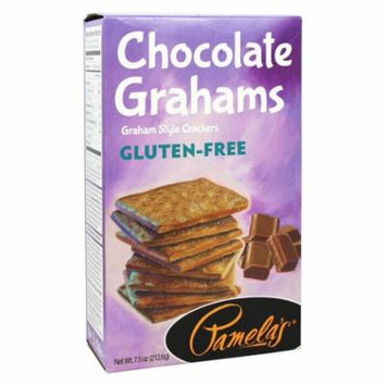 Pamela's Products - Gluten Free Graham Crackers Chocolate - 7 oz(pack of 2)