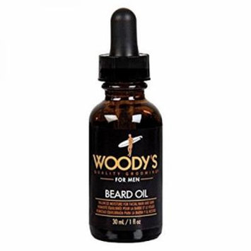 Woody's Quality Grooming for Men Beard Oil, 1 oz.