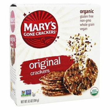Mary's Gone Crackers - Organic Crackers Original - 6.5 oz(pack of 12)