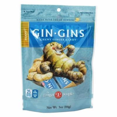 Ginger People - Ginger Chews Peanut Flavor - 3 oz (pack of 4)