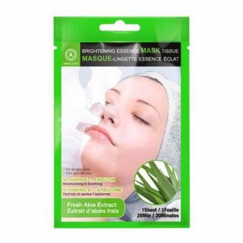 (6 Pack) ABSOLUTE Brightening Essence Mask - Fresh Aloe