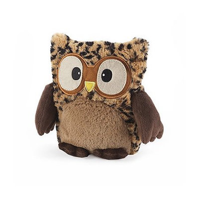 Intelex Hooty Owl Fully Microwavable Toy: Tawny