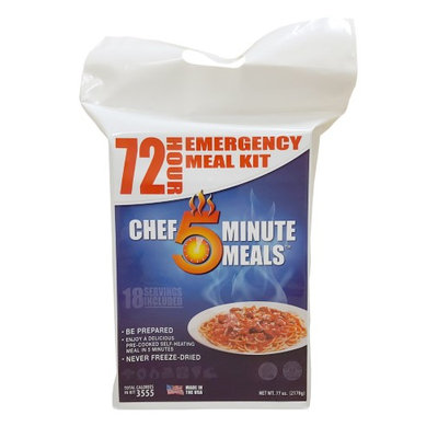 72 Hour Self-Heating Meal and Food Kit-Adult