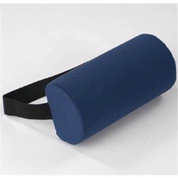 Living Health Products AZ-74-1017-BU D-Section Lumbar Roll - Burgundy