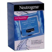 Neutrogena Makeup Remover Cleansing Towelettes, 114 Towelettes