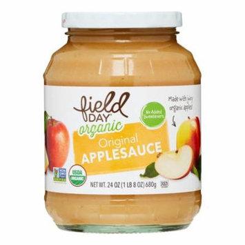 Field Day Organic Applesauce, 24 Oz
