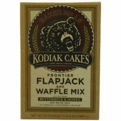 6 Pack : Kodiak Cakes Butter Milk And Honey Flapjack And Waffle Mix, 24-ounce