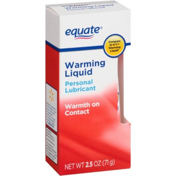 Equate - Warming Liquid, Personal Lubricant, 2.5 OZ (Compare to K-Y)
