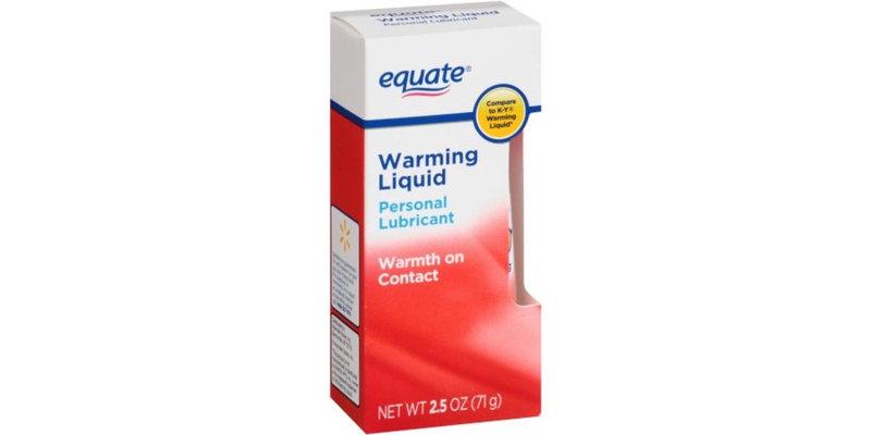 Equate Warming Liquid Personal Lubricant, 2.5 oz - Best