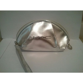 MAC Silver Cosmetics Bag