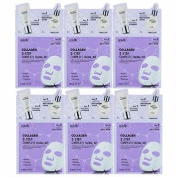 Epielle 3-Step Complete Facial Kit-Collagen (6 pack)
