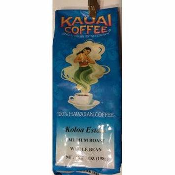 Kauai Coffee Co. Single Origin Dark Roast Whole Bean Coffee 7 Oz.