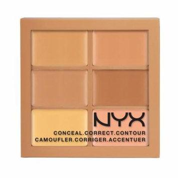 (6 Pack) NYX Conceal, Correct, Contour Palette - Medium