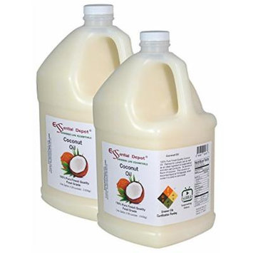Coconut Oil - Finest Quality - 2 Gallons - Food Safe.