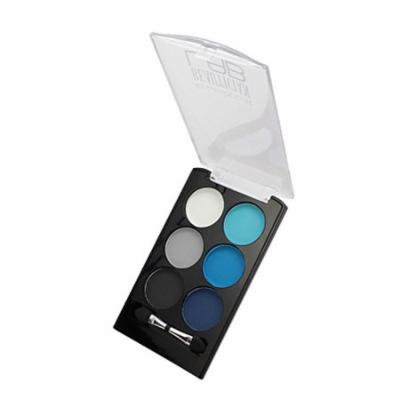 (6 Pack) KLEANCOLOR Beautician Lab Shimmer Shadow Pallete - Experimenter