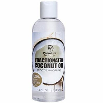 Coconut Oil, Natural Carrier Oil 4 oz, Nourishes Skin, For Face & Body, Moisturizes & Repairs Damage
