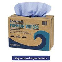 Hydrospun Wipers, Blue, 9 x 16 3/4, 10 Pack Dispensers of 100, 000/Carton, Sold as 1 Carton, 1000 Each per Carton