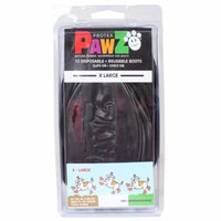 Pawz Dog Boots 023PAWZ-XL-BLK Pawz Dog Boots, Black - Extra Large