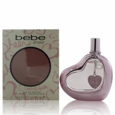 Bebe WBEBESHEER3.4EDPSPR 3.4 oz Womens Bebe Sheer Eau De Parfum Spray
