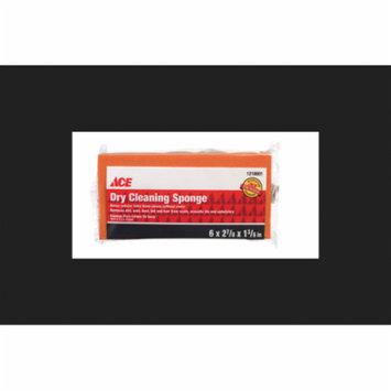 Ace Latex foam Dry Cleaning Sponge 6 in. L x 2-7/8 in. W 1 pk
