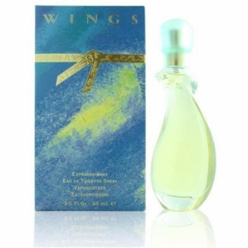 Giorgio Beverly Hills WWINGS3.0EDTSPR 3.0 oz Womens Wings Eau De Toilette Spray Hills