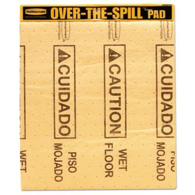 Over-The-Spill Pad Tablet w/25 Medium Spill Pads, Sold as 1 Pad, 25 Sheet per Pad