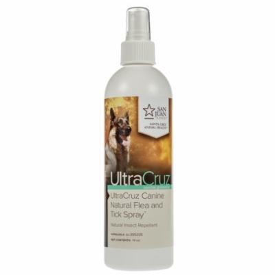 UltraCruz Dog Natural Flea and Tick Spray, 16 oz spray