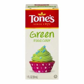 Tone's® Green Food Color 1 fl. oz. Bottle