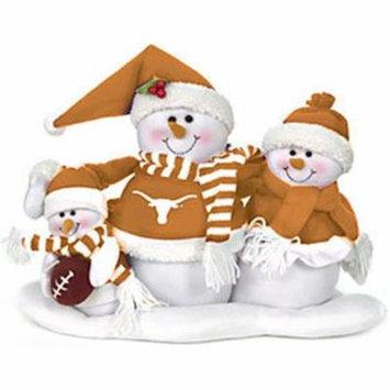 Texas Longhorns Table Top Snow Family