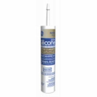 Silicone II 10.1 OZ White Window and Door Caulk 100% Silicone Only One