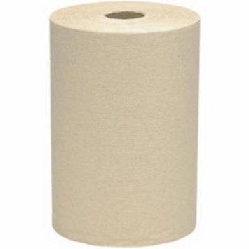 Scott 1 Ply Brown Hard Roll Hand Towel 7-7/8
