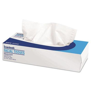 Office Packs Facial Tissue, Flat Box, 100 Sheets/Box, 30 Boxes/Carton, Sold as 1 Carton, 30 Each per Carton