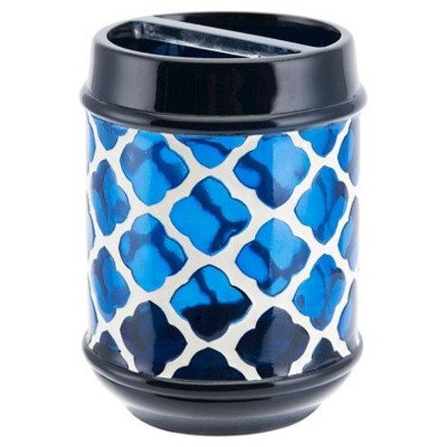Marrakesh Toothbrush Holder White/Blue - Allure®