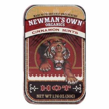 Newmans Own Organics Hot Cinnamon Mints, 1.76 OZ (Pack of 6)