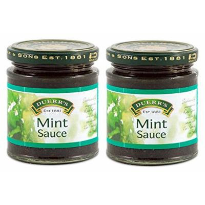 Duerr's Traditional English Mint Sauce, 9.9-Ounce/280grams (Pack of 2)