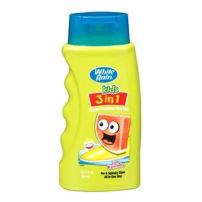 White Rain Kids 3 In 1 Zany Watermelon Hair Shampoo - 12 Oz