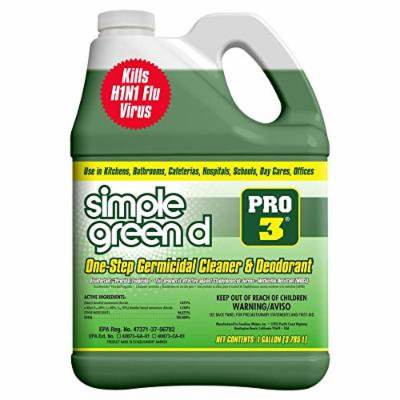 Simple Green Pro 3, 128 oz. Herbal-Pine Professional Grade Disinfectant