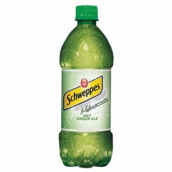 Schweppes Diet Ginger Ale 20 Oz Plastic Bottles * 24