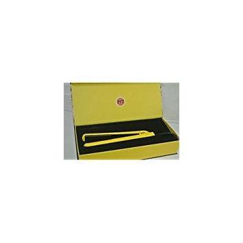 PYT Ceramic 1.25 Hair Straightener Flat Iron - Neon Yellow