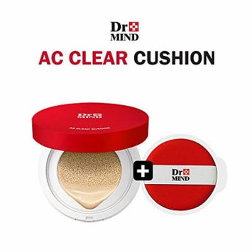 Dr.Mind Clear Cover Cushion (15g+15g Refill) / perfect cover / trouble acne cover (21 Cover Light)