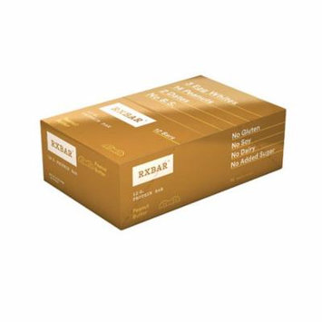 RXBAR Protein Bar Peanut Butter -- 12 Bars pack of 2