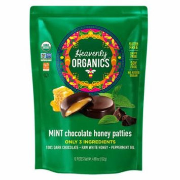 "Heavenly Organics Honey Pattieâ""¢ Chocolate Mint -- 12 Patties pack of 4"